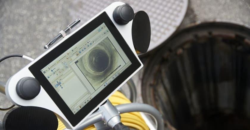 inspekcja kanalizacji kamerowanie rur usługi kamerą inspekcyjną